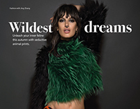 "Top 50 Model, Sabrina Ioffreda in ""Wildest Dreams"" for"