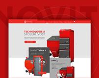NOVITERA website design