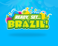Ready, Set, Brazil styling and UI design