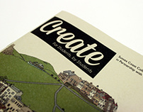 Create Magazine- Graphic Design and Illustration Issue