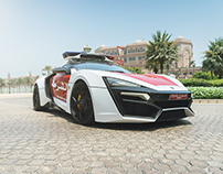 Lykan Hypersport for Abu Dhabi Police (official press)