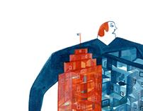 BANK, press-illustrations, avril 2013.