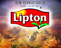 lipton magazine posters