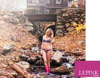 Le Pink Lingerie Campaign
