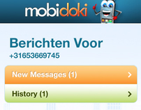 Mobidoki Apps Interface - Mobile and Web Interface