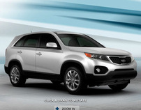 Kia Website Re-design