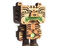 TORAJI_the tiger mask robot