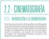 Tesis sobre cinematografía      - Redacción