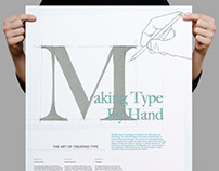Making Type By Hand