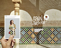 Spain is part of you by Pep Avila for Ogilvy & Mather