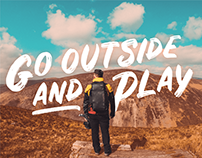 Go Outside and Play | Art Direction & Branding