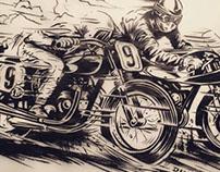 Riders on the Storm - Illustration design