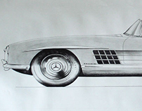 Mercedes Roadster - video