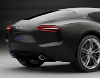 Maserati Alfieri - Matte Edition