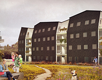 Multi-storey housing in Horsens