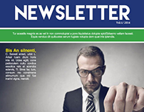 Free Business Newsletter Template