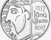 UK coin for the 1000th Coronation of King Canute