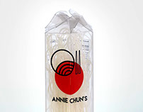 Annie Chun's Noodles Packaging