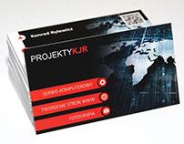 Projekty KJR - Business Cards