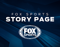 FOX Sports Story Page Redesign