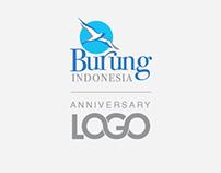 BURUNG INDONESIA ANNIVERSARY LOGO