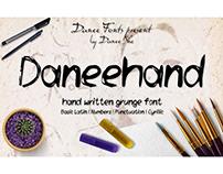 Daneehand Font presentation