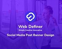 Social Media Post & Banner Design For IT Company