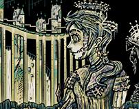 """Wax Palace"" Digital Illustration"