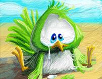 luckless bird