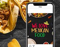 Social Media Mexican Food