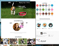 Barking bob - One page website