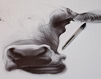 Ballpoint pen drawings 02