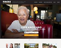 Faces of Fracking Website Design & Development