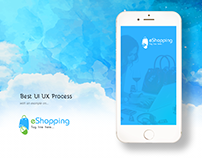 eShopping iOS Mobile APP UI & UX Inspiration Interface.