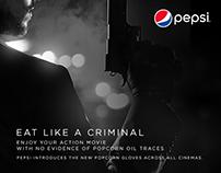 Pepsi Cinema Gloves Idea