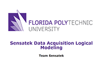 Sensatek Data Acquisition Logical Modeling