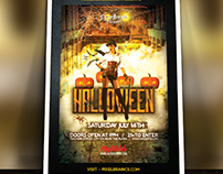 Halloween Flyer Template Download Vol - 1