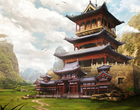 Landscape Matte Paintings