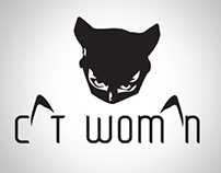CAT WOMAN Redesign Logo