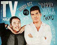TV Magazine - Hand Lettering