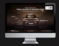 BMW X5 Microsite
