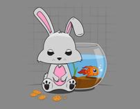 Bunny and Milo