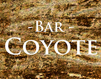 Landing Page «Bar Coyote»