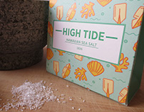 High Tide Sea Salt Packaging