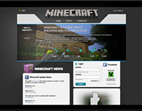 Minecraft Website Remake