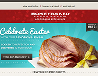 HoneyBaked Ham Email Marketing Easter 2013