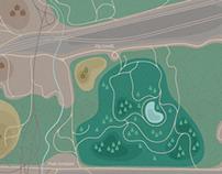 Mappa   Quartiere Forlanini