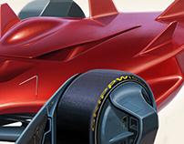 Autonomous F1. Team Modena-Cyber representin'.