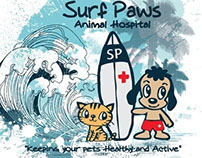 2013 - Graphics for Surf Paws