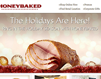 HoneyBaked Ham Email Marketing Christmas 2011